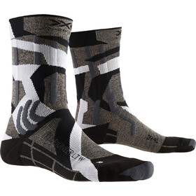 X-Socks Trek Pioneer LT Calze Donna, granite grey/modern camo